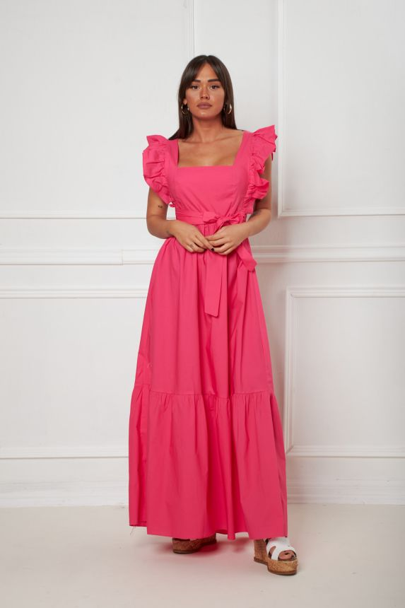 Φόρεμα με Φιόγκο Στην Πλάτη Emma
