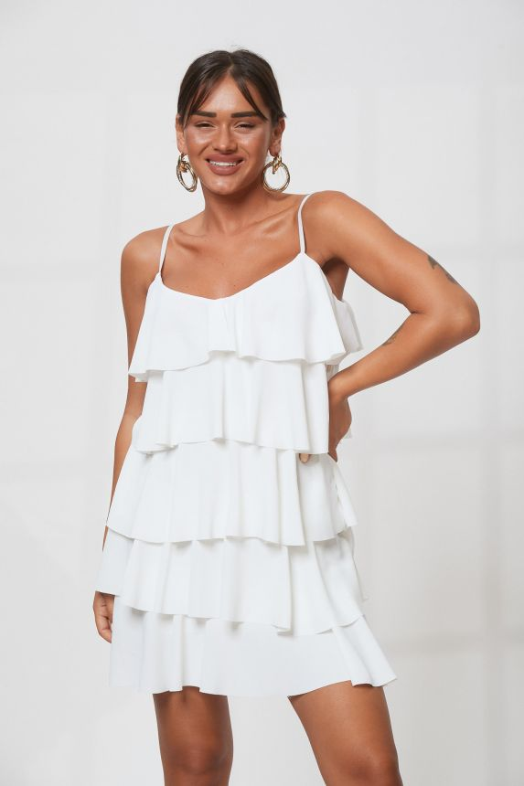 Φόρεμα Με Βολάν Jesica