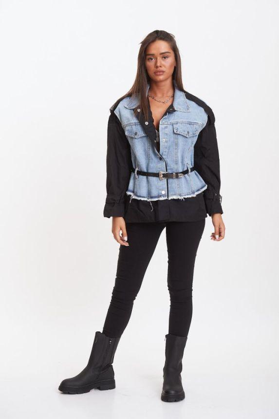 Jacket Jean Gilet & Shirt