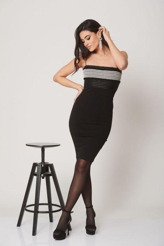 Φόρεμα Με Πλέγμα Bella