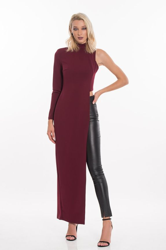 Long Tunic With One Sleave