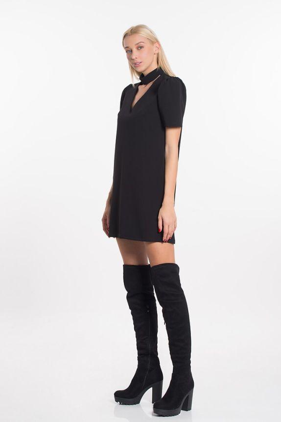 Φόρεμα Ίσιο Με Choker