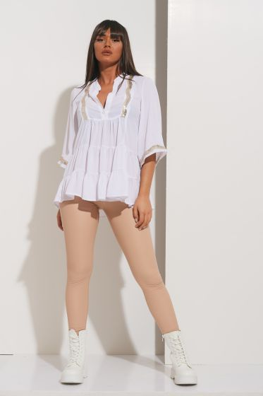 Μπλούζα Μους Με Ρέλι Παγιέτες