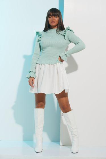 Φόρεμα Ριπ Μακρύ Μανίκι Jadore